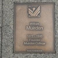 Image: William Muirden Plaque