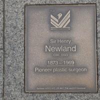 Image: Sir Henry Newland Plaque