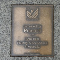 Image: James Arthur Prescott Plaque
