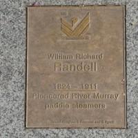 Image: William Richard Randell Plaque