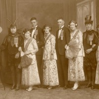 Image: Group wearing Chinese costume