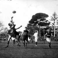 Image: Australian Rules Football, North Adelaide vs. Port Adelaide