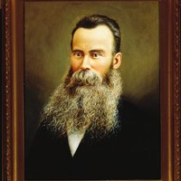 Portrait of Thomas Cooper, possibly in the 1880s