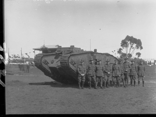 Image: World War One tank