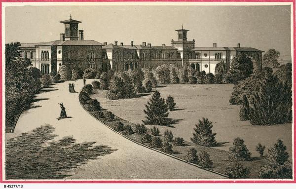 Image: Adelaide Hospital in 1890