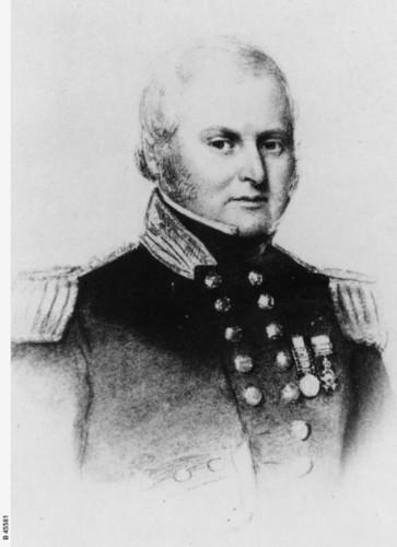 Image: portrait of man in military uniform