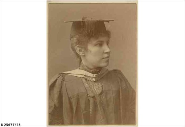 Edith E. Dornwall, graduate and former student of the Advanced School for Girls, 1920.