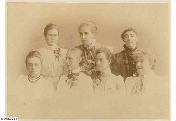 The staff of the Advanced School for Girls.