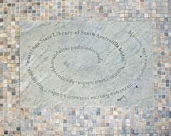 Kaurna greeting stone, State Library of South Australia