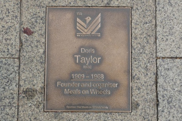 Image: Doris Taylor Plaque