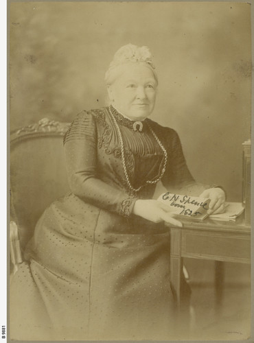 Portrait photo of Catherine Helen Spence