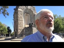 Keith Conlon on the South Australian War Memorial