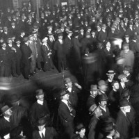 Image: crowd of people on the street