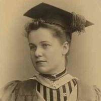 Image: woman in academic dress