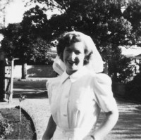 Image: woman in nurses uniform