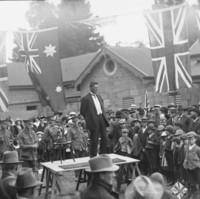 Image: World War One recruitment tour