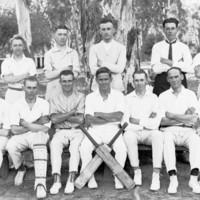 Image: Cricket team, c. 1910