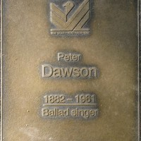 Jubilee 150 walkway plaque of Peter Smith Dawson