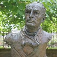 Bronze bust of Douglas Mawson by Adelaide sculptor John Dowie, 1981