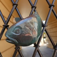 Image: Close up photograph of Fish for the Slate Pool Walkway