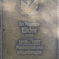 Jubilee 150 walkway plaque, Sir Thomas Elder