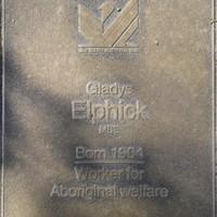 Jubilee 150 walkway plaque, Gladys Elphick