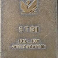 Jubilee 150 walkway plaque, ST Gill.
