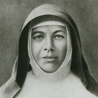 Image: portrait of woman in a religious habit.