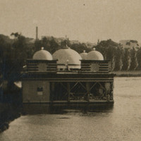 Image: Palais de Danse and rowboats