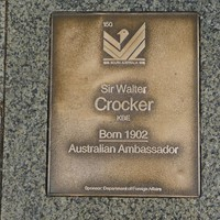 Image: Sir Walter Crocker Plaque