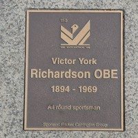 Image: Victor Yorke Richardson Plaque