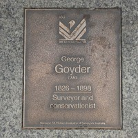 Image: George Goyder Plaque