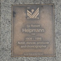 Image: Sir Robert Helpmann Plaque
