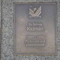 Image: Sir Sidney Kidman Plaque