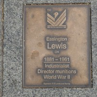 Image: Essington Lewis Plaque