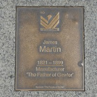 Image: James Martin Plaque