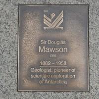 Image: Sir Douglas Mawson Plaque