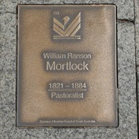 Image: William Ranson Mortlock Plaque