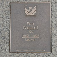Image: Paris Nesbit Plaque
