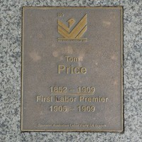 Image: Tom Price Plaque