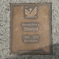Image: Ronald Maxy Sharpe Plaque