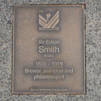Image: Sir Edwin Smith Plaque