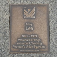 Image: Mary Lee Plaque