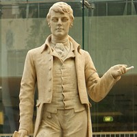 Statue of Robert Burns