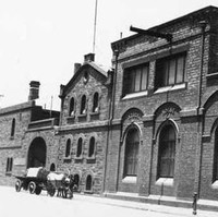 West End Brewery fronting the south side of Hindley Street, Adelaide, 1925